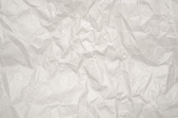 Crumpled White Paper Texture - Free High Resolution Photo