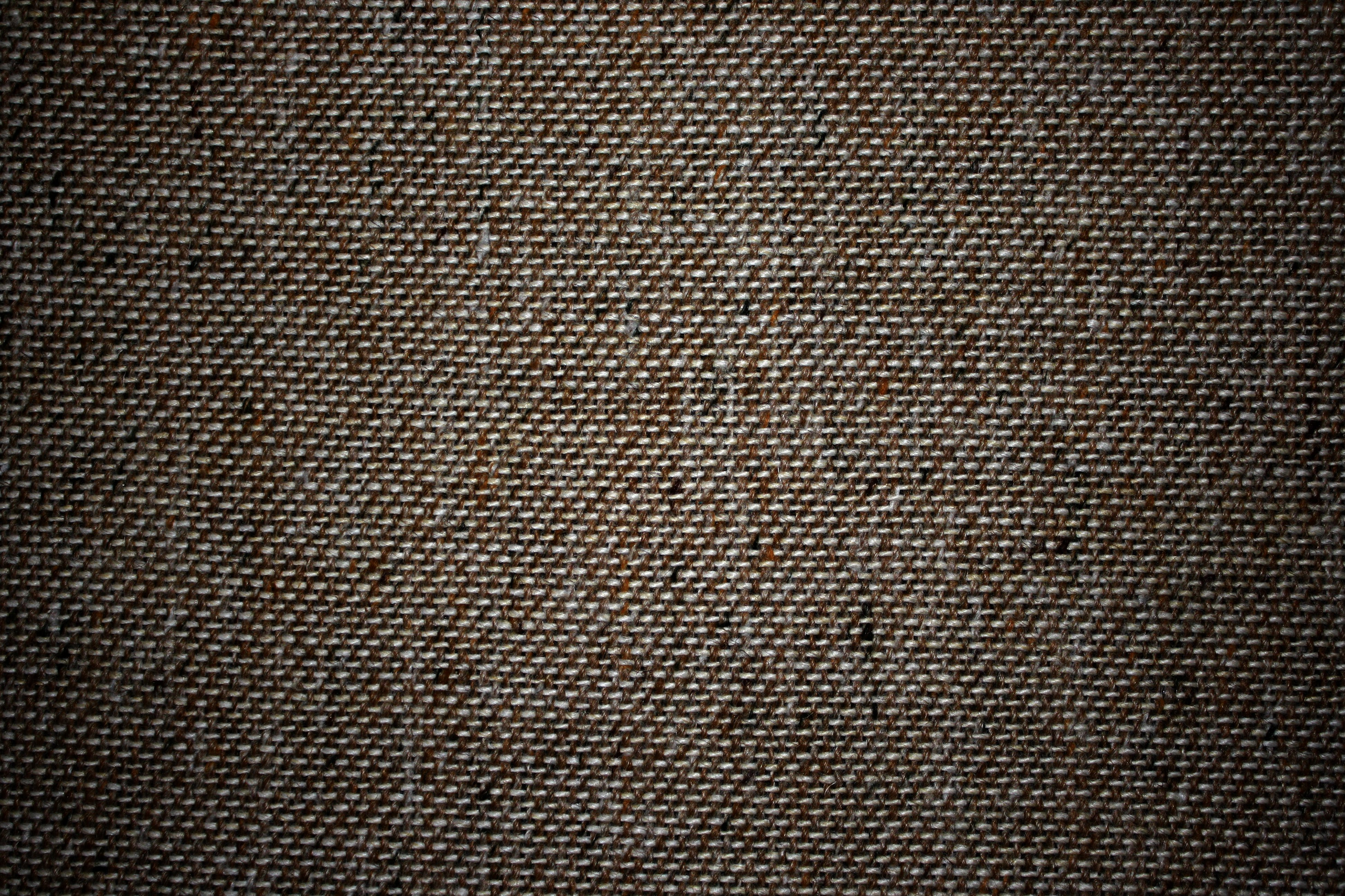 Dark Brown Upholstery Fabric Close Up Texture Picture