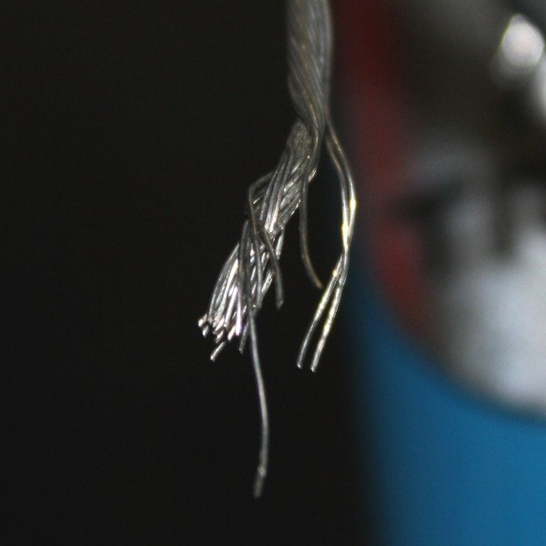 Frayed End on Twisted Wire Cable - Free High Resolution Photo