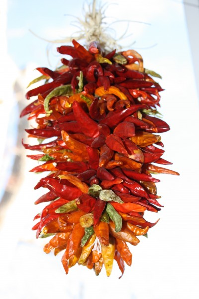 Hanging Chili Peppers Ristra Decoration - Free High Resolution Photo