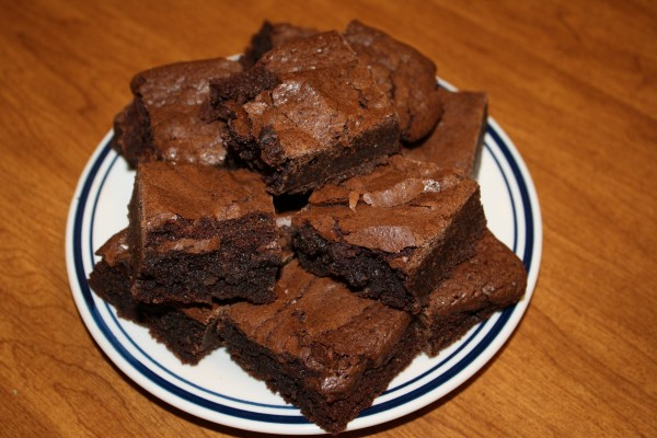 Plate of Brownies - Free High Resolution Photo