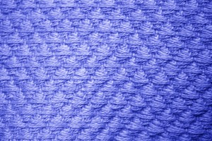 Royal Blue Diamond Patterned Blanket Close Up Texture - Free High Resolution Photo