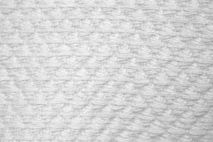 White Diamond Patterned Blanket Close Up Texture - Free High Resolution Photo