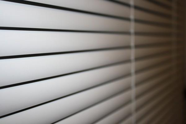 White Vinyl Mini Blinds - Free High Resolution Photo