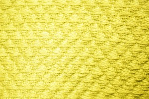 Yellow Diamond Patterned Blanket Close Up Texture - Free High Resolution Photo