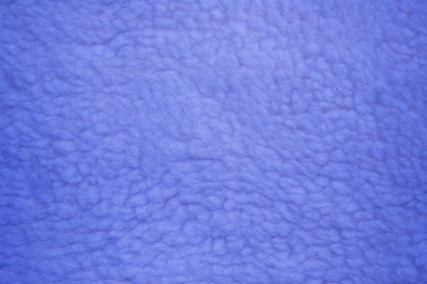 Blue Fleece Faux Sherpa Wool Fabric Texture - Free High Resolution Photo