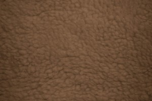 Brown Fleece Faux Sherpa Wool Fabric Texture - Free High Resolution Photo