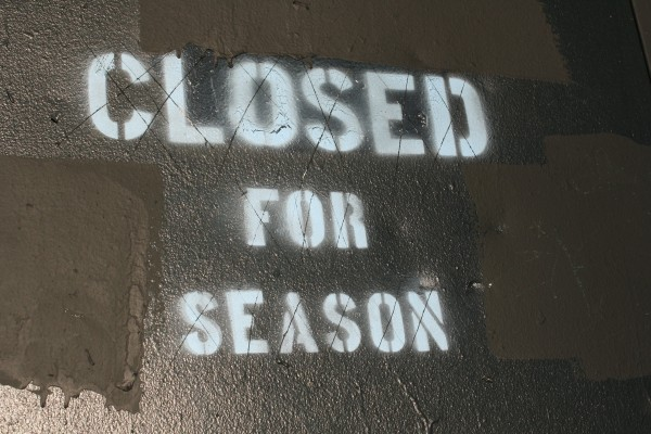 Closed for the Season - Free High Resolution Photo