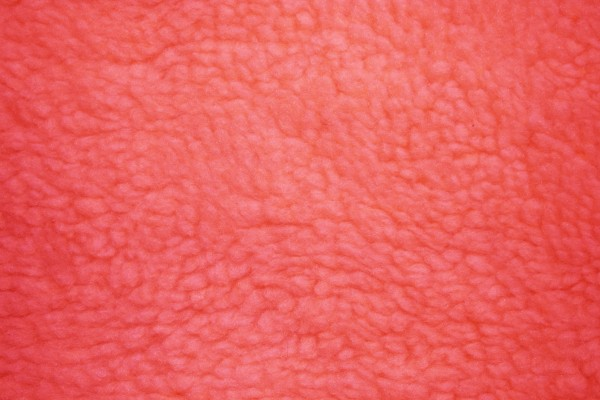 Fleece Faux Sherpa Wool Fabric Texture Red - Free High Resolution Photo
