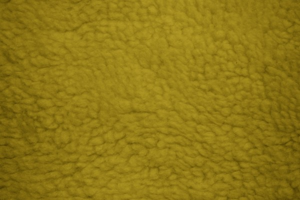 Gold Fleece Faux Sherpa Wool Fabric Texture - Free High Resolution Photo