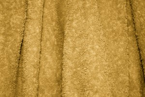 Gold Terry Cloth Bath Towel Texture - Free High Resolution Photo