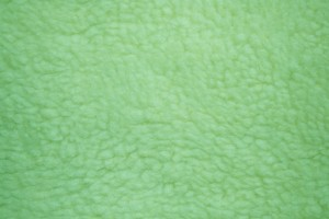 Green Fleece Faux Sherpa Wool Fabric Texture - Free High Resolution Photo