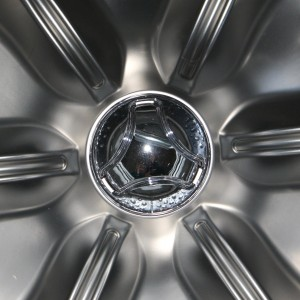 High Efficiency Washer Drum Stainless Steel Starburst - Free High Resolution Photo