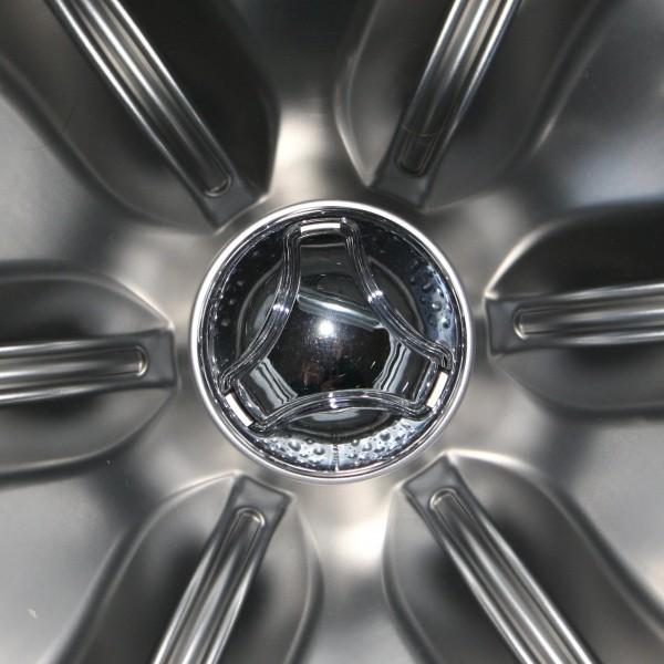 High Efficiency Washer Drum Stainless Steel Starburst - Free High Resolution Photo