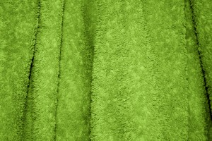 Lime Green Terry Cloth Bath Towel Texture - Free High Resolution Photo