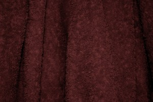 Maroon Terry Cloth Bath Towel Texture - Free High Resolution Photo