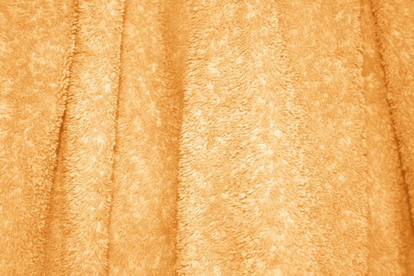 Orange Terry Cloth Bath Towel Texture - Free High Resolution Photo
