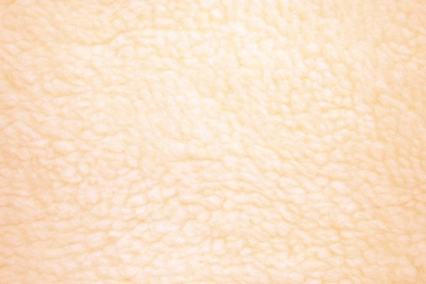 Peach Colored Fleece Faux Sherpa Wool Fabric Texture - Free High Resolution Photo