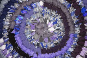 Rag Rug Close Up Texture Purple - Free High Resolution Photo