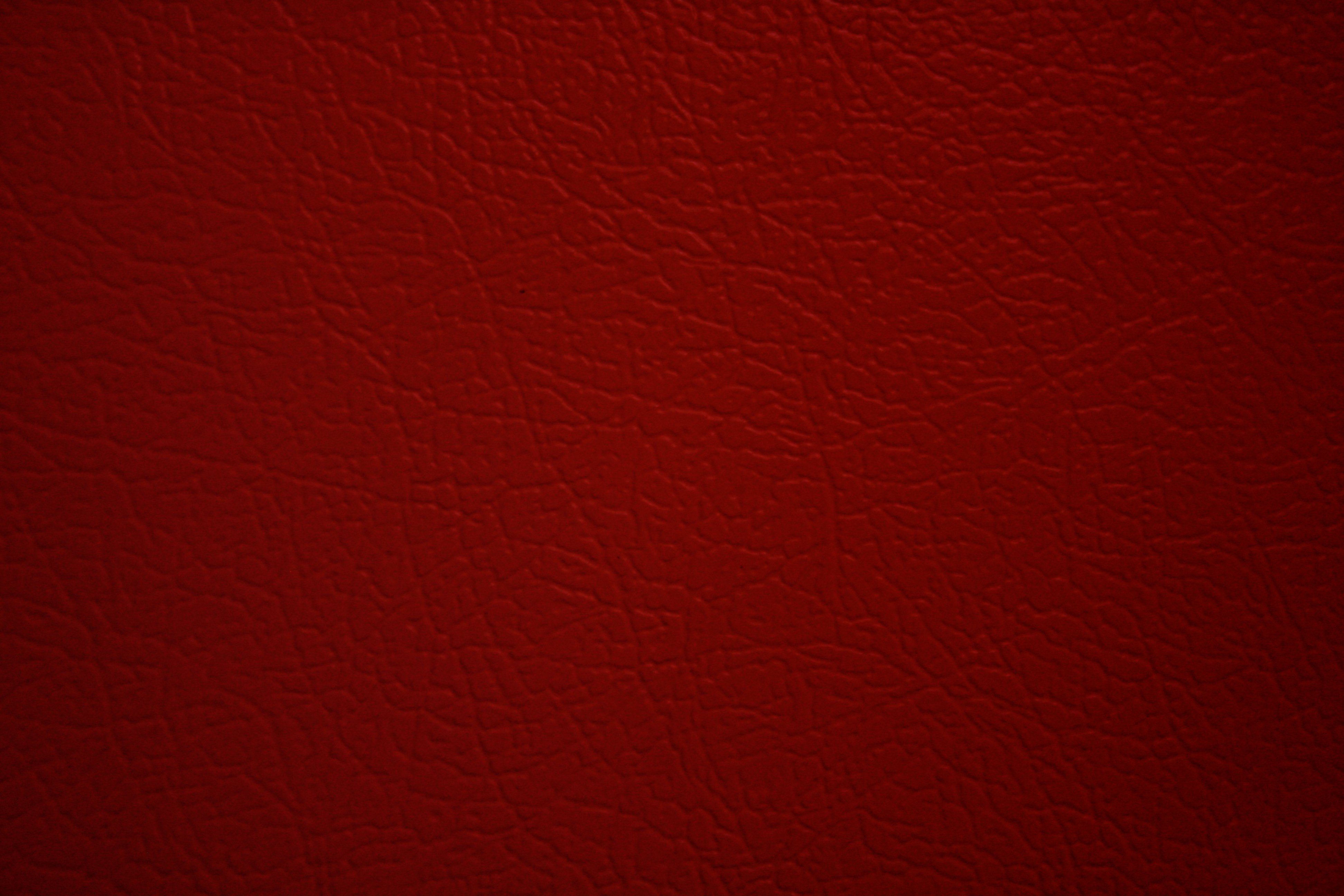 Red Faux Leather Texture Picture Free Photograph