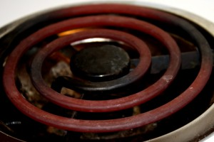 Red Hot Burner on Electric Stove - Free High Resolution Photo