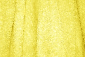 Yellow Terry Cloth Bath Towel Texture - Free High Resolution Photo