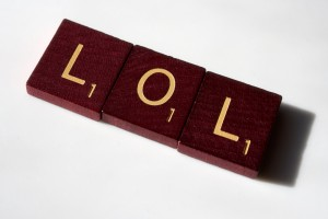 LOL - Scrabble tiles spelling LOL - Free high resolution photo