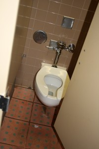 Toilet in Public Restroom Stall - Free High Resolution Photo