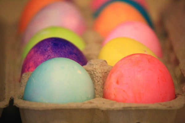 Colored Easter Eggs - Free High Resolution Photo