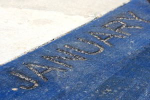 January - Free high resolution photo of the word January - part of a sidewalk solar calendar