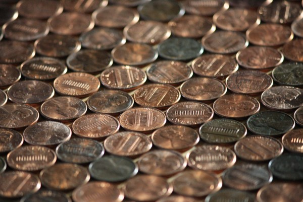 Pennies - Free high resolution photo of US Copper pennies