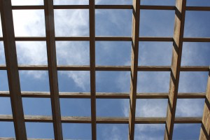 Sky Through Terrace Roof - Free high resolution photo