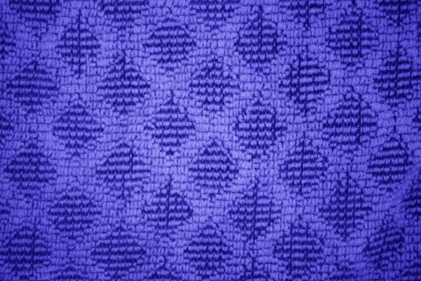 Blue Dish Towel with Diamond Pattern Close Up Texture - Free High Resolution Photo