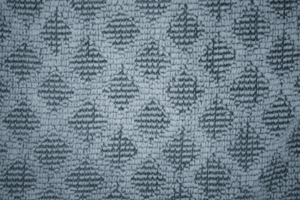 Blue Gray Dish Towel with Diamond Pattern Close Up Texture - Free High Resolution Photo