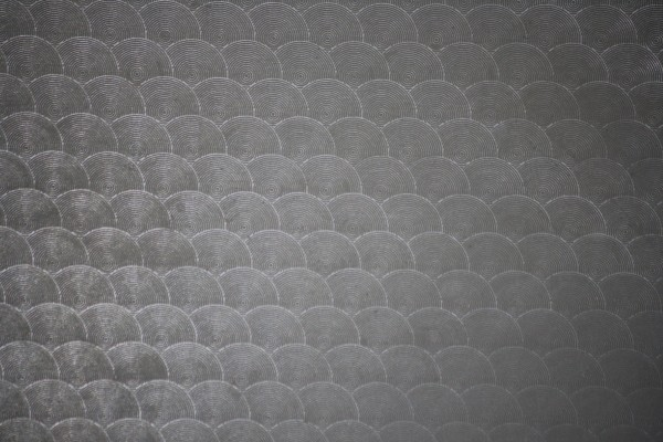 Charcoal Gray Circle Patterned Plastic Texture - Free High Resolution Photo