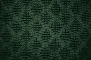 Forest Green Dish Towel with Diamond Pattern Close Up Texture - Free High Resolution Photo
