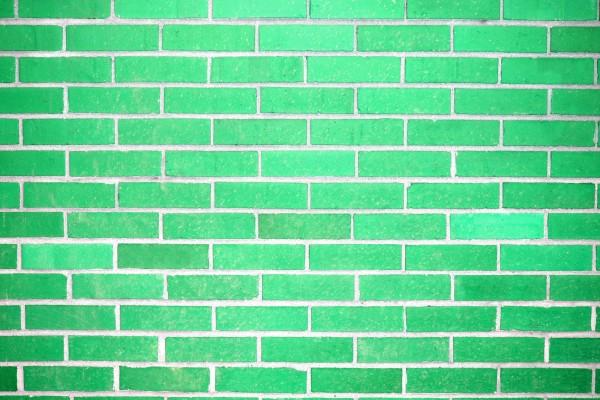 Green Brick Wall Texture - Free High Resolution Photo