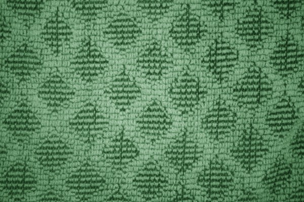 Green Dish Towel with Diamond Pattern Close Up Texture - Free High Resolution photo