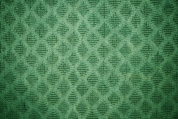 Green Dish Towel with Diamond Pattern Texture - Free High Resolution Photo