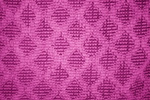Hot Pink Dish Towel with Diamond Pattern Close Up Texture - Free High Resolution Photo