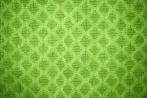 Lime Green Dish Towel with Diamond Pattern Texture - Free High Resolution Photo