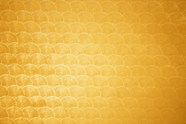 Marigold Circle Patterned Plastic Texture - Free High Resolution Photo