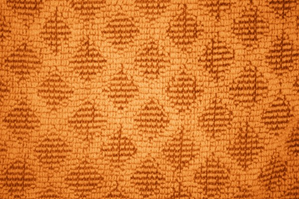 Orange Dish Towel with Diamond Pattern Close Up Texture - Free High Resolution Photo