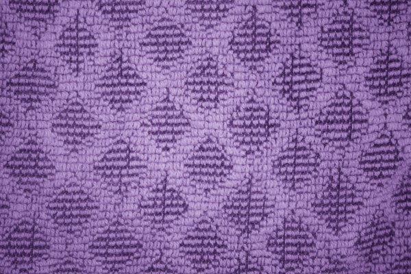 Purple Dish Towel with Diamond Pattern Close Up Texture - Free High Resolution Photo