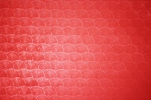 Red Circle Patterned Plastic Texture - Free High Resolution Photo