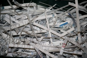 Shredded Paper Documents - Free High Resolution Photo