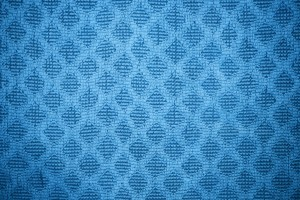 Sky Blue Dish Towel with Diamond Pattern Texture - Free High Resolution Photo