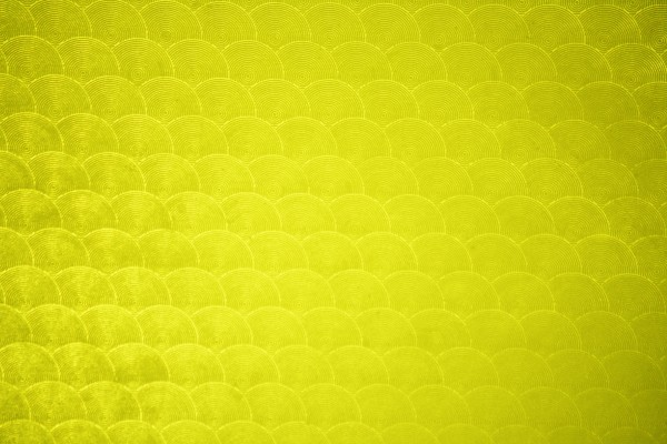Yellow Circle Patterned Plastic Texture - Free High Resolution Photo