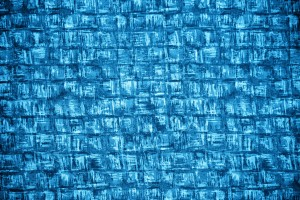 Azure Blue Abstract Squares Fabric Texture - Free High Resolution Photo