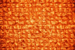 Orange Abstract Squares Fabric Texture - Free High Resolution Photo